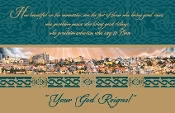 Pray for the Peace of Jerusalem Christmas Cards
